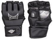 TapouT Elite Striking Training MMA Gloves Open Finger Large - XL UFC grappling