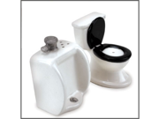 Toilet and Urinal Salt and Pepper Shaker Set