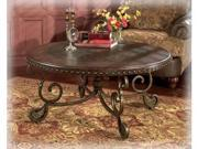 Rafferty Round Cocktail Table by Ashley Furniture