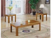 3 Piece Set Oak Occasional Table Set  by Coaster Furniture