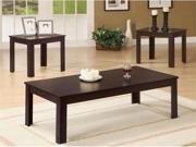 Cappuccino Coffee  End Table 3-Piece Set by Coaster Furniture
