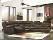 DuraBlend - Cafe 3 Piece Reclining Sectional Sofa