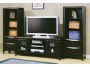 Entertainment Center - Cappuccino Finish