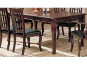 Coaster 100500 Dining Table, Cherry Finish