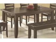 Page Contemporary Rectangular Semi-Formal Dining Table  by Coaster