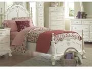 Queen Size Bed of Cinderella Collection by Homelegance