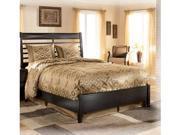 King Bed inBlack  Finish