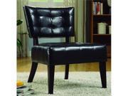 Warner Bi-Cast Vinyl Accent Chair - Dark Brown By Homelegance Furniture