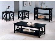 Sofa Table in Dark Cappuccino Finish by Coaster Furniture