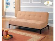 Elegant Lounger in Tan Micro Fiber of Serene Collection by Homelegance
