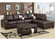 3-Pcs Sectional Sofa By Poundex