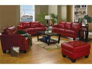 Red Finish Samuel Collection Set by Coaster Furniture