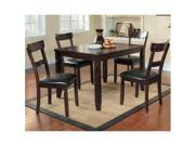 Oaklahoma 5-Piece Set in Expresso by Homelegance