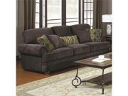 Traditional Grey Sofa with Elegant Design Style by Coaster