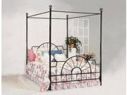 FOUNDRY BED WITH CANOPY FULL SIZE