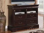Roman Empire II TV Console in Dark Cherry by Acme Furniture