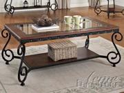 Waneta Coffee Table in Cherry by Acme Furniture