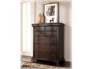 Cherry Brown Chest by Ashley Furniture