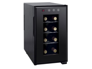 Thermo-electric Slim Wine Cooler with Heating (8-bottles)