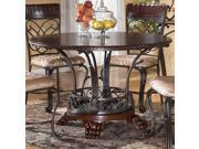 Round Wood Top Table by Ashley Furniture