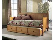 Casey Daybed Honey Maple Back, Rails, and Slats By Fashion Bed Group
