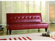Marco Adjustable Sofa Red By CrownMark Furniture