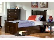 Brayden Twin Size Bed with Underbed Drawers