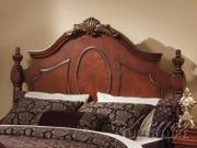 Queen Size Bedroom Headboard in Cherry Finish by Acme