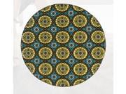 "Caspian Collection Woven Rug (#8328L) 7'10"" Round"