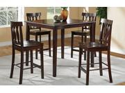 5 PCS COUNTER HEIGHT-DINING SE