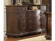 Palace Dresser - Rich Brown By Homelegance Furniture