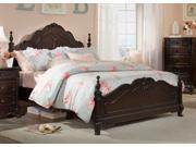 Cinderella Full Bed (Espresso) By Homelegance