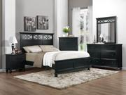 California King Bed (Black Finish)