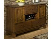 Marcel Collection Server in Warm Oak Finish by Homelegance