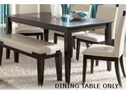 Rectangular Dining Room Table in Dark Brown by Ashley Furniture