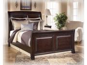 Queen Bed Set in DarkBrown  Finish
