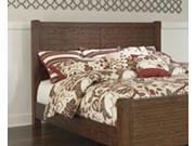 Vintage Casual Queen Poster Headboard in Medium Brown - Signature Design by Ashley Furniture