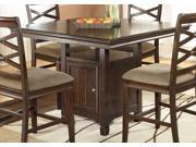 Hayley Square Counter Height Table by Ashley Furniture
