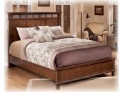 Medium Brown Queen Panel Bed - Signature Design by Ashley Furniture