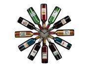 WINE BOTTLE CLOCK