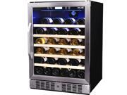 NewAir  AWR-520SB  52-Bottle  52 Bottle Compressor Wine Cooler  Stainless Steel & Black