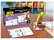 HOT DOTS ACADEMIC VOCABULARY CARD