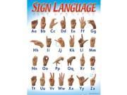 CHART SIGN LANGUAGE 17 X 22 GR 1-2