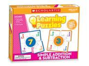 LEARNING PUZZLES SIMPLE ADDITION &