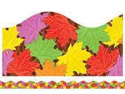 FALL LEAVES SCALLOPED TRIMMER