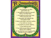 LEARNING CHART TEN COMMANDMENTS