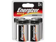 Energizer Max D, 4 Pack