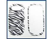 Pantech P2020 (Ease) Zebra Protective Case