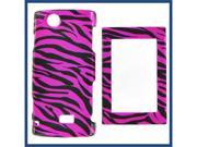 Sharp FX Zebra on Hot Pink (Hot Pink/Black) Protective Case