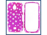 Samsung T759 (Exhibit 4G) Star on Hot Pink Protective Case